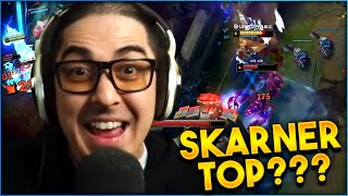 SKARNER TOP VS ME??? WHAT IS HE THINKING?? @Trick2G