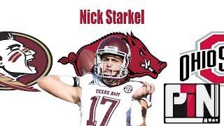 Razorback Football : Nick Starkel To Arkansas?