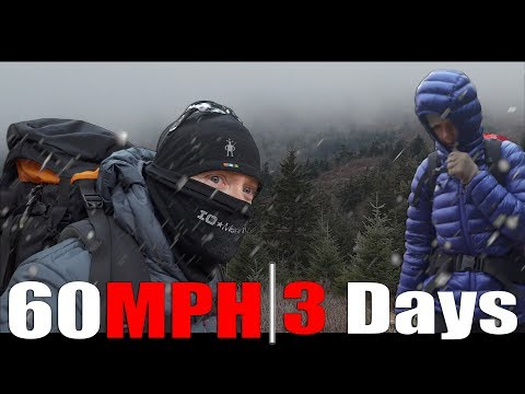 Ferocious 60MPH Winds - Camping 3 Days In The High Mountains