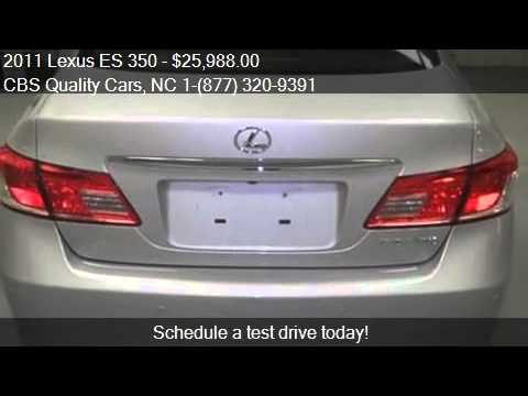 2011 lexus es 350 for sale in durham nc 27703 at the cbs qu youtube. Black Bedroom Furniture Sets. Home Design Ideas