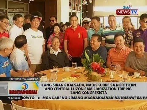 Ilang sirang kalsada, nadiskubre sa Northern and Central Luzon ng ilang kongresista