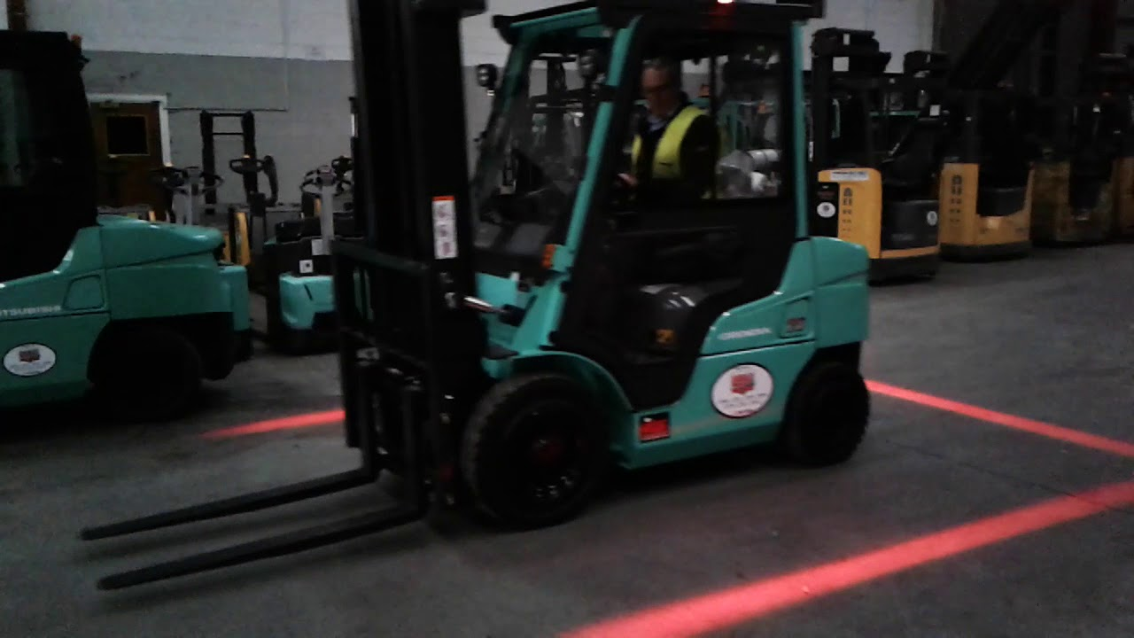 Henley Forklift Safety Zone Spot Lamp Youtube