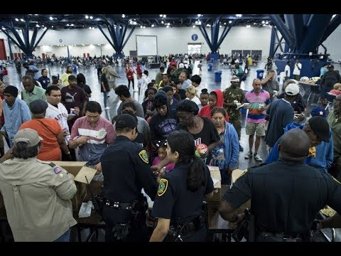 Houston Shelters Overwhelmed Following Monster Storm