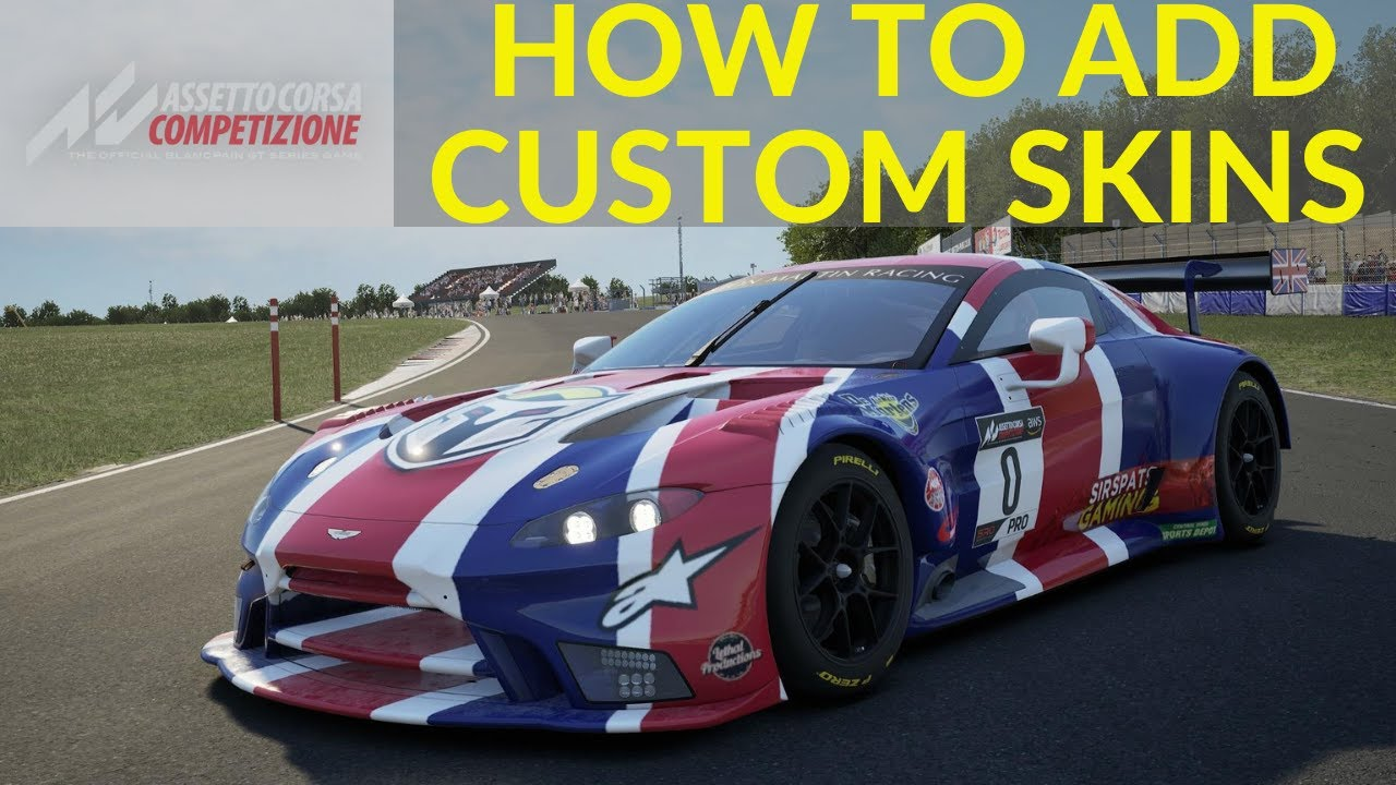 How To Add Custom Skin Assetto Corsa Competizione