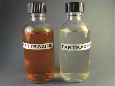Hasil gambar untuk gambar tartrazin