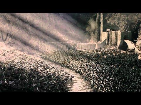 Arriver du Rohan au Gouffre de Helm Le Seigneur des anneaux : Le Retour du roi