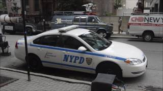 NYPD Cruisers In Chicago (Empire Filming Set)