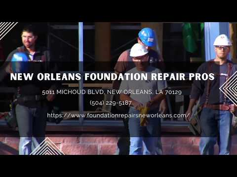 New Orleans Foundation Repair Pros - Foundation Contractor | Found Repair New Orleans, Louisiana