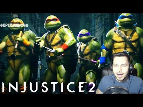 Thumbnail: I CAN'T BELIEVE THIS IS HAPPENING - Injustice 2: Fighter Pack 3 REACTION! Ninja Turtles, Enchantress