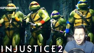 I CAN'T BELIEVE THIS IS HAPPENING - Injustice 2: Fighter Pack 3 REACTION! Ninja Turtles, Enchantress