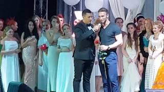 Иракли на параде невест в Ужгороде