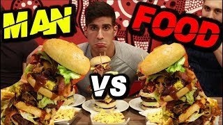 SUPER HAMBURGER CHALLENGE - FOIS VS FOLLOWERS thumbnail