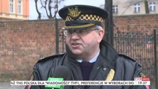 Teren byłego browaru w Brzegu niebezpieczny (Puls Polski TVP Info, 12.02.2014)