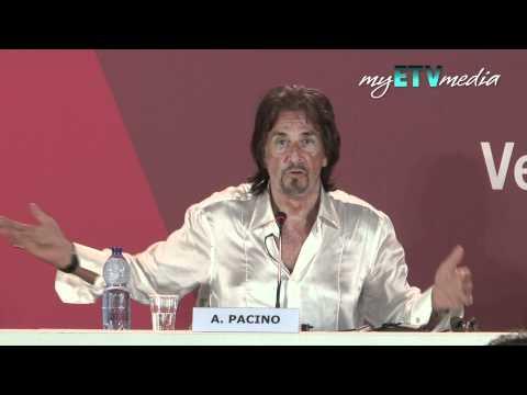 Al Pacino on Wilde Salome @ Venice Film Festival Part 2