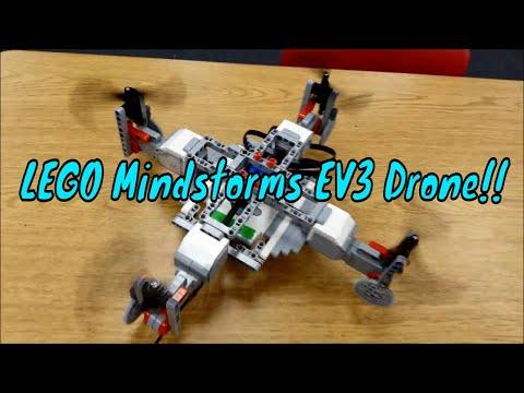 """The LEGO Mindstorms EV3 Drone/Quadcopter"""