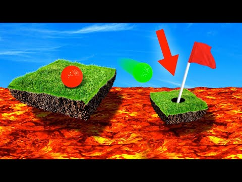 EXTREME MILE HIGH HOLE IN ONES! (Golf It)