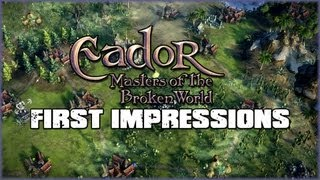 Eador: Masters of the Broken World Gameplay - First Impressions