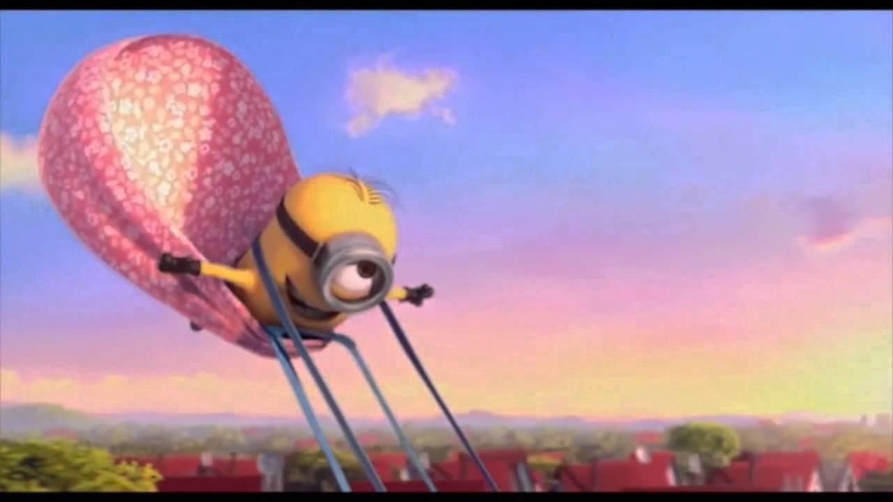 Animated Dj Wallpaper You Can Fly You Can Fly Minion S Ending Youtube