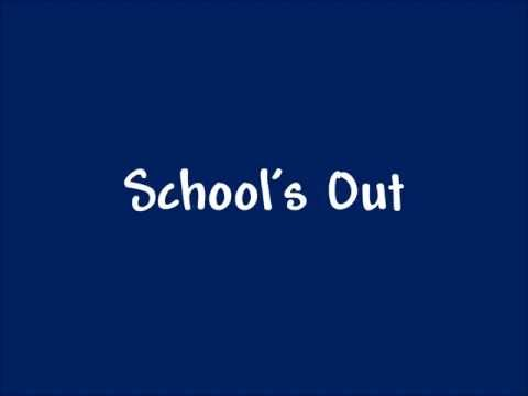 School's Out! A song for the end of the school year