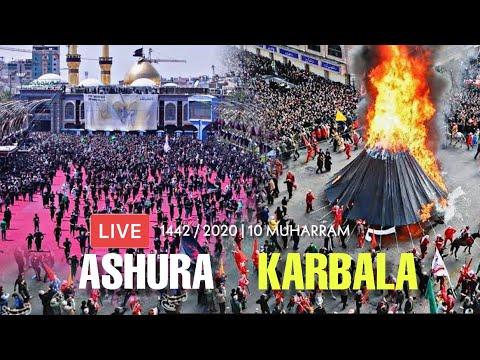 LIVE 🔴 | Ashura From Karbala | 10 Muharram 1442 Hijri / 2020 | New Video