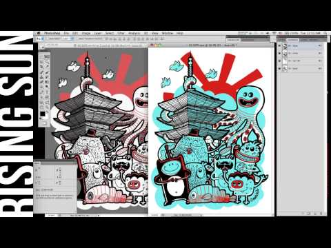 Swapping Spot Color Channels in Photoshop w/Illustrator Output - No Registration Issues