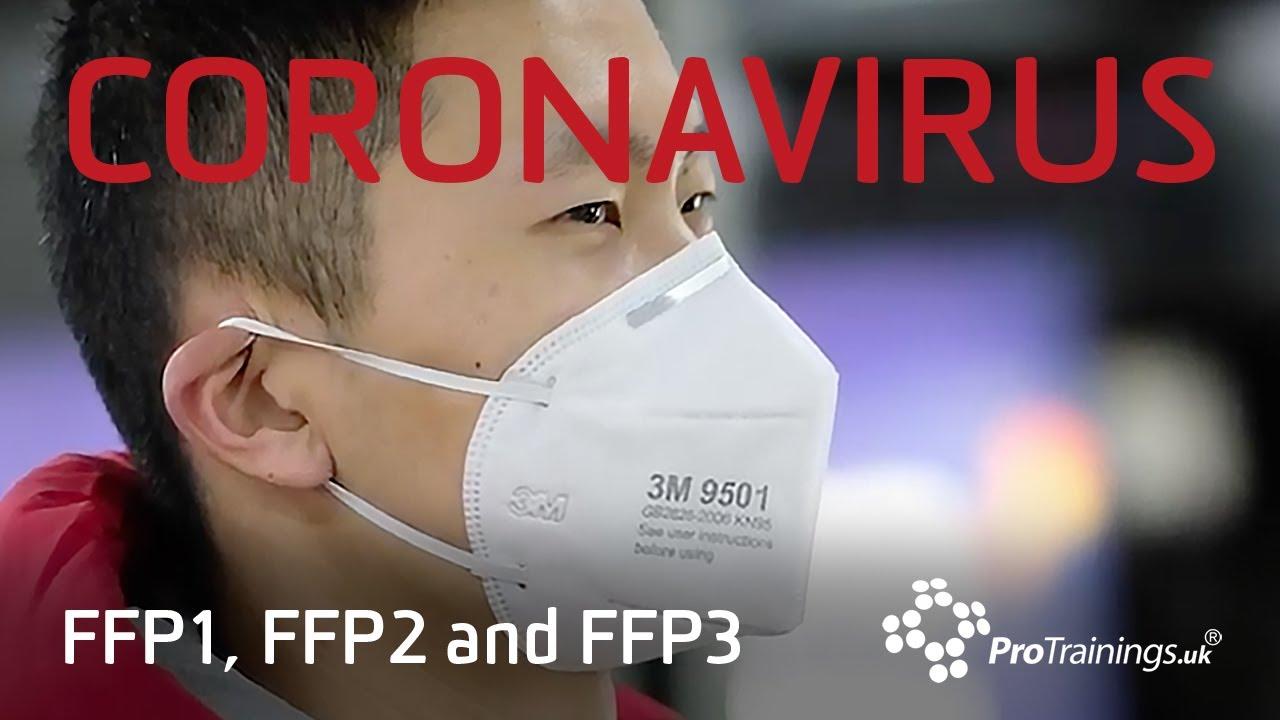 Download Face Masks with Coronavirus: FFP1 vs FFP2 vs FFP3