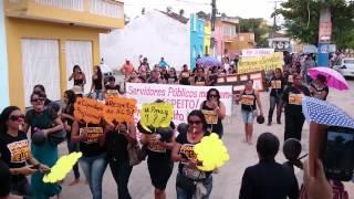 Goiana: Agentes Comunitárias de Saúde promovem protesto por melhores condições de trabalho - Parte1
