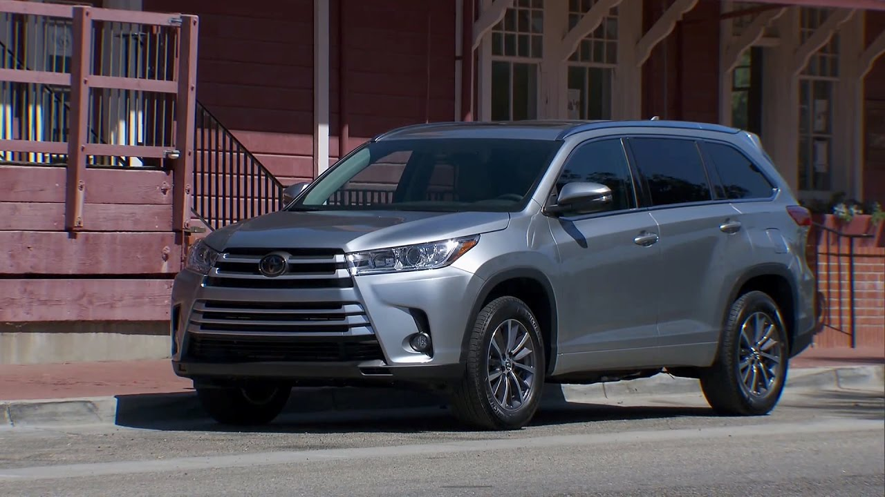2017 toyota highlander xle youtube. Black Bedroom Furniture Sets. Home Design Ideas