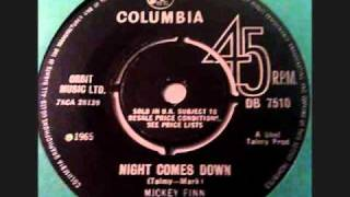 "The Mickey Finn - "" Night comes down """