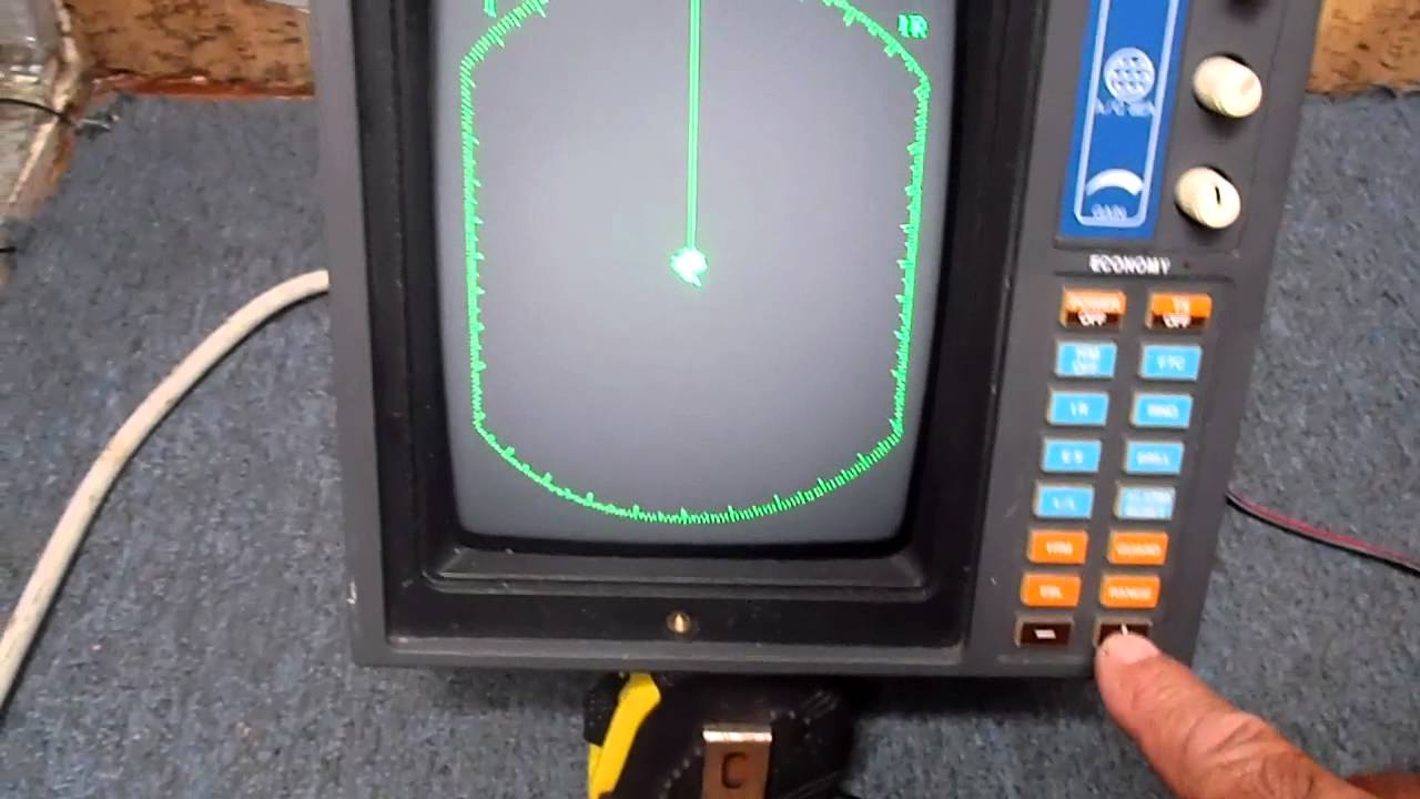 Furuno Radar 1720 Youtube
