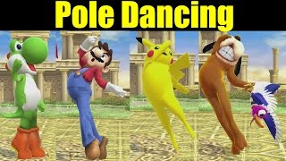 What if Every Character Could POLE DANCE Like Palutena In Super Smash Bros Wii U (Smash 4 Mods)