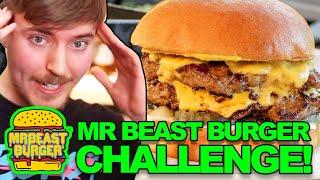 MrBeast Burger Copycat Challenge **DESTROYED!**  How To Make A MrBeast Burger  Mr Beast