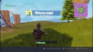 Fortnite MY FIRST REAL VITTORY IN SINGLE!!!