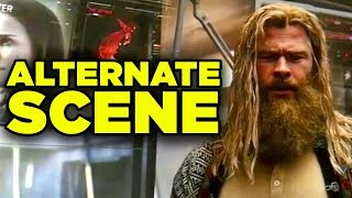Avengers Endgame Fat Thor Deleted Scene Revealed!