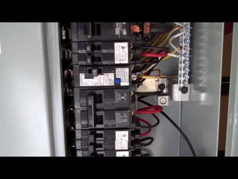 spa electrical hook up