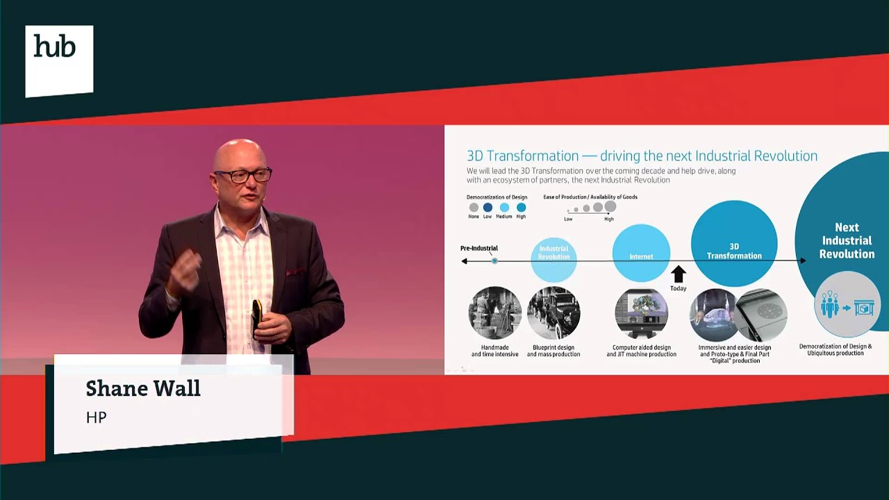 61e757a40b4 3D Printing: Driving the Next Industrial Revolution | Shane Wall | hub  conference