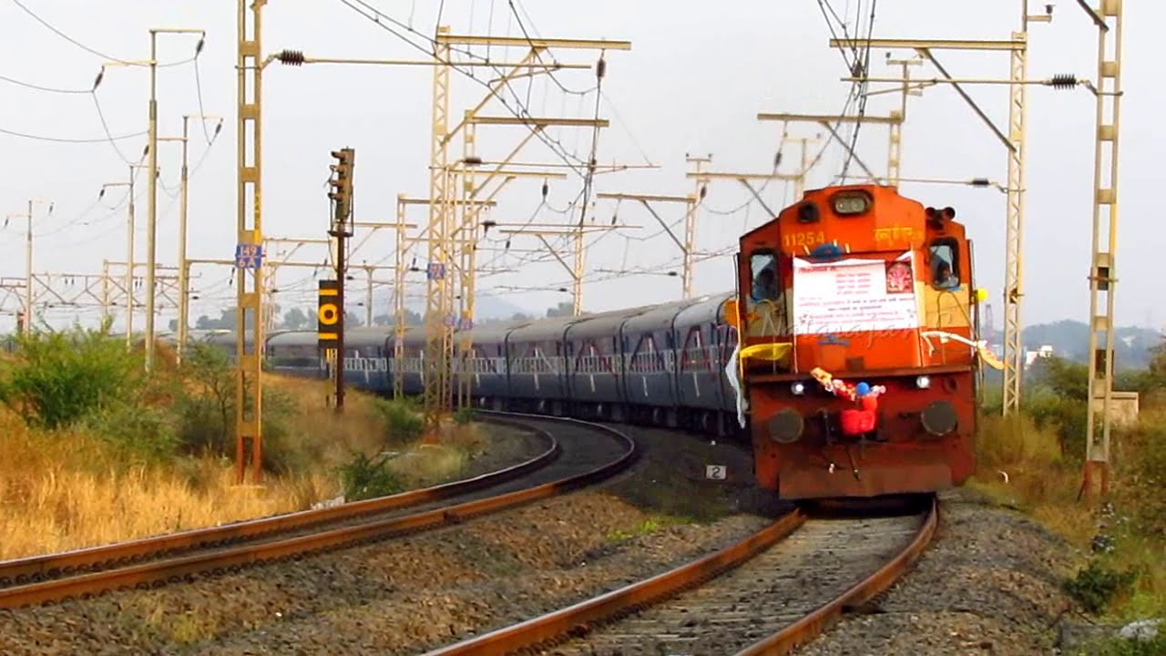 High Speed trains on Mumbai - Pune Line.. - YouTube