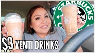 Affordable STARBUCKS Drinks Part 3