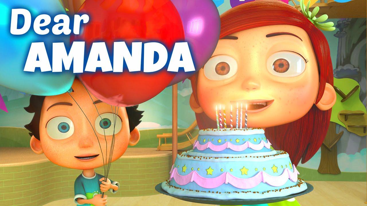 Happy Birthday Song To Amanda Youtube