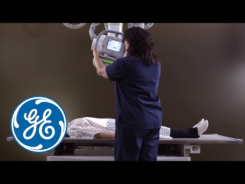 GE Healthcare X-ray:  Discovery XR656 Advanced Digital Radiography System - Advanced Applications