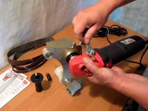адаптер на болгарку для шлифовки и полировки труб AGPT 610 1S