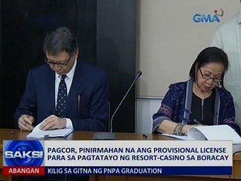 Saksi: Pagtayo ng casino-resort sa Boracay, aprubado na ng PAGCOR
