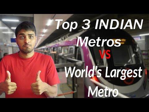 Part 2: Top 10 Metro Rails in INDIA 2018