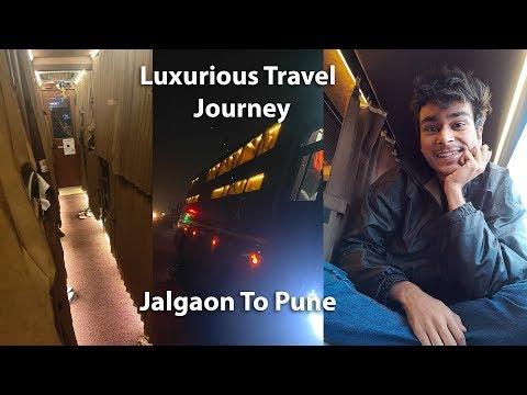 Luxurious Travel Journey Jalgaon To Pune (Vlog 88) | BhushanDroid