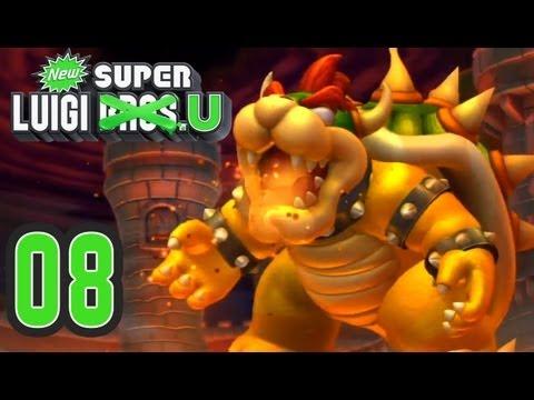 New Super Luigi U. 100% (Co-op) - Episode 08 (Peach's Castle)