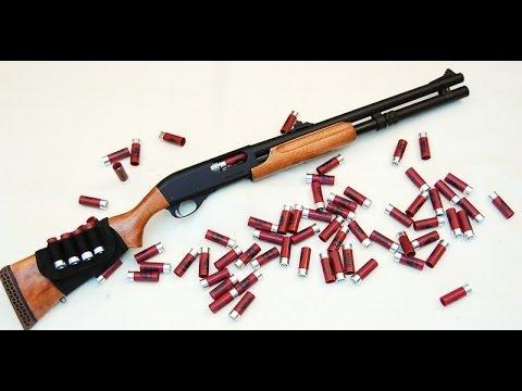 APS CAM870 Shotgun (4.5mm Steel BBs Load!) Destruction Power Shooting Test