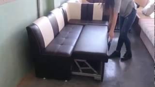 видео Кухонный уголок Икеа со спальным местом