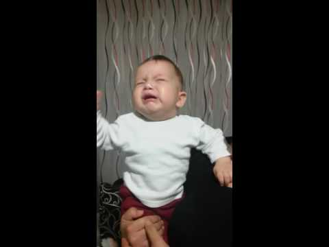 Çok şeker ağlayan bebek. Maşallah  sana..