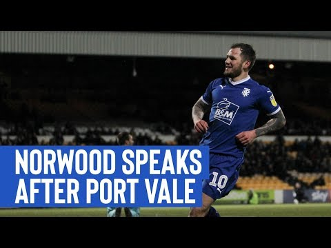 Post Match | James Norwood (Port Vale)