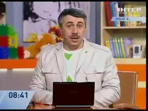"""Стоит ли укачивать ребенка   """"Доктор Комаровский"""" Телеканал  Интер"""